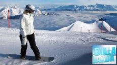 W Alpach trochę chmur i świeżego śniegu