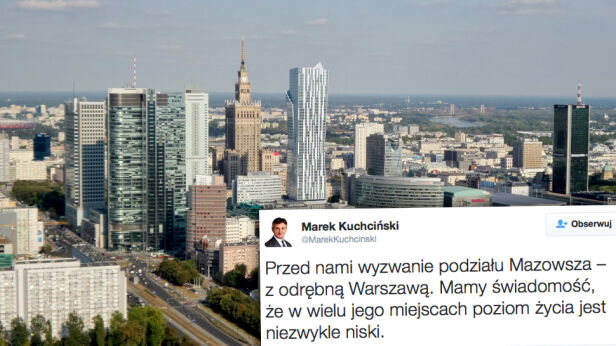 Deklaracja marszałka Sejmu tvnwarszawa.pl , Marek Kuchciński / Twitter