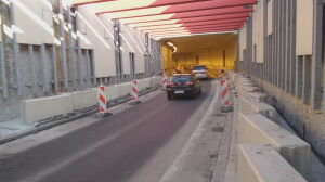 Trzeci rok walczą z wodą w tunelu S79 na lotnisko