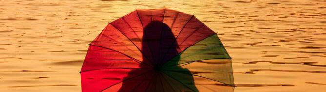 Nad kurortami i trochę słońca, i trochę deszczu