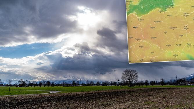 Pogoda na 5 dni: najpierw burze, <br />chwilę później chłodny wir i śnieg