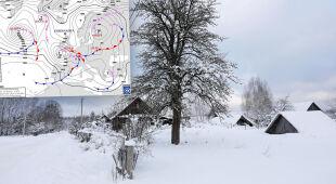 IMGW: w lutym nocami możliwe -30 stopni Celsjusza