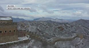 Zimowa aura w Chinach
