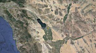 Najwięcej wstrząsów miało miejsce w pobliżu miasta Calipatria