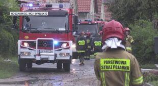 Zalane drogi i posesje w Roszkowicach